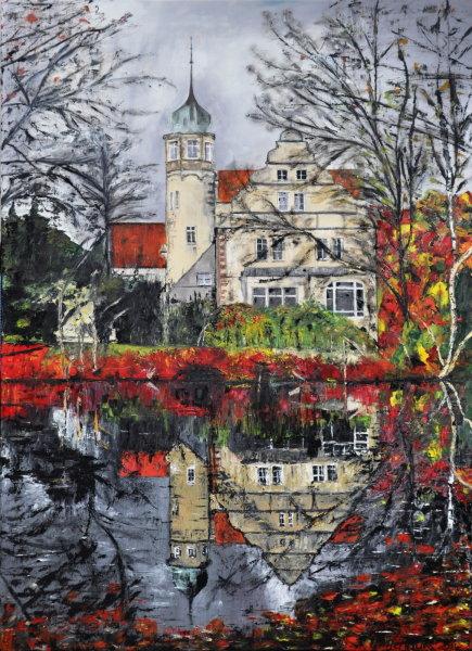 Wasserschloss Ulenburg, Gemälde